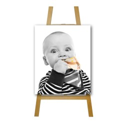 Image Print Portrait Classic Canvas 19mm White Edge from €35.00
