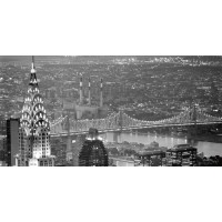 Chrysler Building and Queensboro Bridge