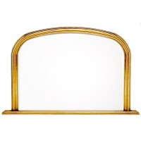 Gold Modern Overmantle